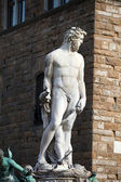 Florence - Sculpture Hercules and Cacus — Stock Photo