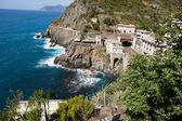 Beautiful coastline in Cinque Terre, Liguria, Italy — Stock Photo