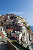 Manarola - one of the cities of Cinque Terre in italy — Stock Photo