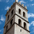 The tower of the Temple of Minerva in Assisi — Stock Photo