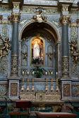 Assisi - church of Santa Maria sopra Minerva — Stock Photo