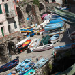 The Fishing Boats in Cinque Terre Italy - Photo