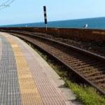 Railway station — Stock Photo #11753762