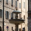 Assisi fountain in Main Square — Stock Photo #11804078