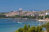 Egeïsche kust - recreaiton gebied en strand — Stockfoto