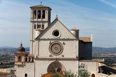 Bazylika saint francis, Asyż, Włochy — Zdjęcie stockowe