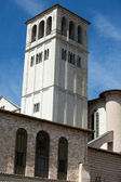 Basilica di san francesco, assisi, italia — Foto Stock