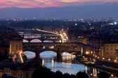 Ponte Vecchio, Florence,Tuscany, Italy — Stock Photo