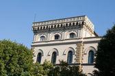 Firenze-rinascimentale Palazzo nei pressi del fiume arno — Foto Stock