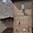 Assisi - medieval town - Stock Photo