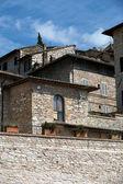 Assis - cidade medieval — Foto Stock