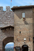 Assisi - medieval town — Stock Photo