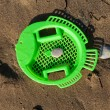 Beach Toy on the wet sand — Stock Photo