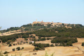 The medieval town of Pienza — Stock Photo
