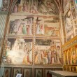 Florence -  Santa Croce: Frescoes in the Baroncelli Chapel - Lizenzfreies Foto