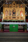 Florence - Santa Croce, main altar — Stock Photo