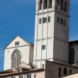 Stock Photo: Basilicof Saint Francis, Assisi, Italy