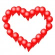Royalty-Free Stock Vector Image: Heart balloon