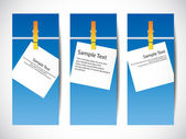 Set of banners Vector — Stock Vector
