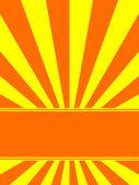 Sunburst background — Stock Vector