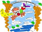 Skoki na bungee — Wektor stockowy