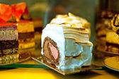 Taart dessert — Stockfoto