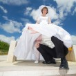 Stock Photo: Wedding couple