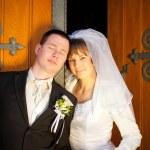 Wedding couple — Stock Photo #11874973