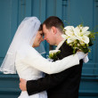 Wedding couple — Stock Photo #11874987