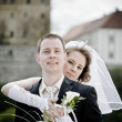 Wedding couple — Stock Photo #11899676