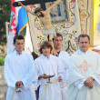 Stock Photo: Pageantry for Assumption of Mary