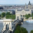 Budapest - Chain Bridge — Stockfoto