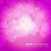 Błyszczące światła purpurowo różowe tło z tekstem - wektor — Wektor stockowy