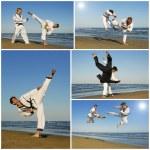 Taekwondo — Stockfoto