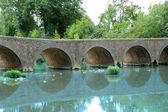 Pont de Pattes, Salinelles — Stock Photo