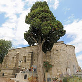 Chapelle saint-julien de montredon — Stok fotoğraf