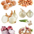Group of onions - Stock Photo