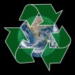 Recycling Earth — Stock Photo #11106707