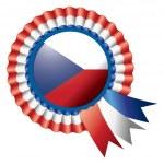 Rosette flag — Stock Vector