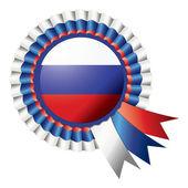 розетка флаг — Cтоковый вектор