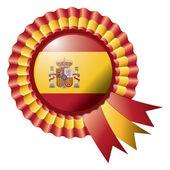 Bandiera di rosetta — Vettoriale Stock