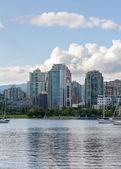 Canada. Vancouver. Down Town. — Foto de Stock
