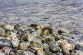 Kiezel op een strand — Stockfoto