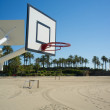 Beach basketball — Stock Photo