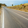 Stock Photo: Coastal road