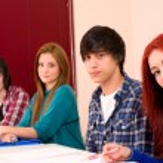 Students — Stock Photo