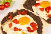 Huevos rancheros — Stock Photo