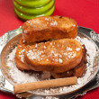 Stock Photo: Portion of torrijas