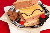 Ice cream treat — Stock Photo