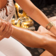 Leg massage — Stock Photo #12316678